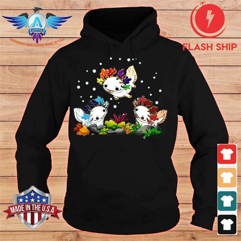 Funny Salamander Shirt hoodie
